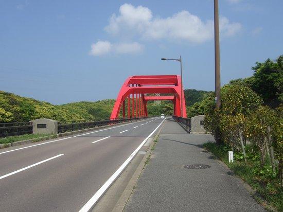 Manzekiseto: 万関瀬戸に架かる万関橋