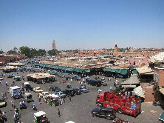 Hotel Chems : Place jemaa el-fna