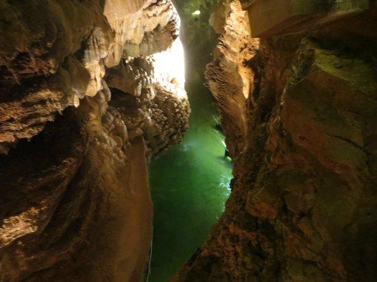 Gouffre de Padirac : La rivière souterraine