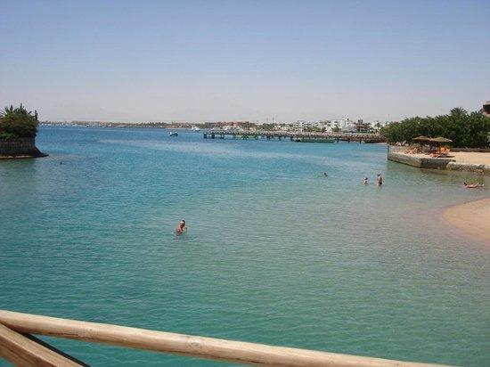 Hurghada Marriott Beach Resort: Вид на море