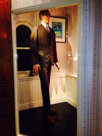 Ripley's Believe It Or Not! Blackpool: Tall guy