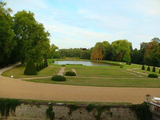 Château d'Esclimont : территория парка