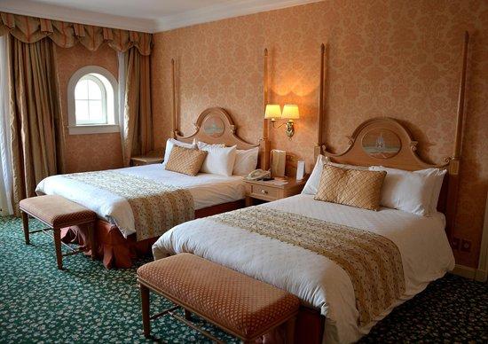 Disneyland Hotel : La chambre