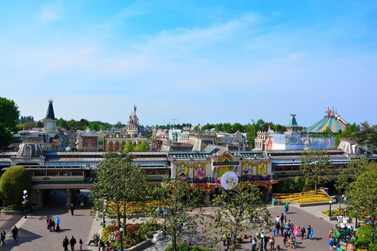 Disneyland Hotel : Vue de la chambre