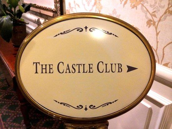 Disneyland Hotel : Accés Castle Club