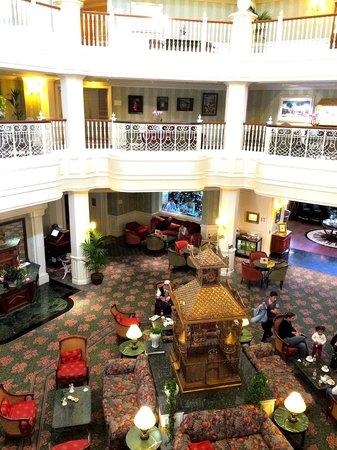 Disneyland Hotel: L'étage privatif