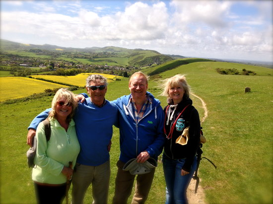 Bindon Bottom B&B : Discovering more Purbeck Walk to tell you about