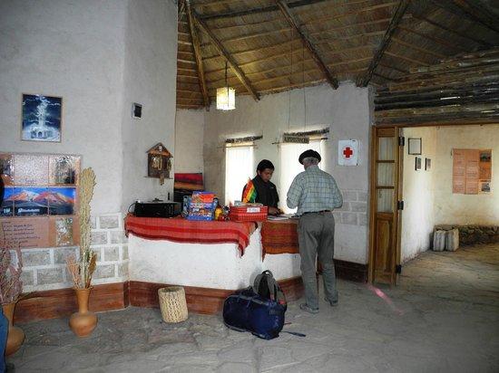 Hotel Tayka de Sal: Reception