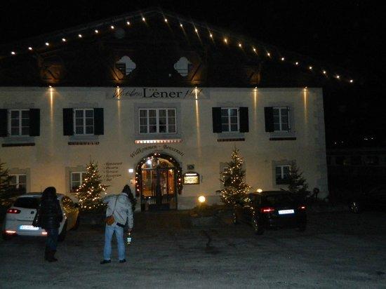 Wirtshaus & Hotel Lener: di notte