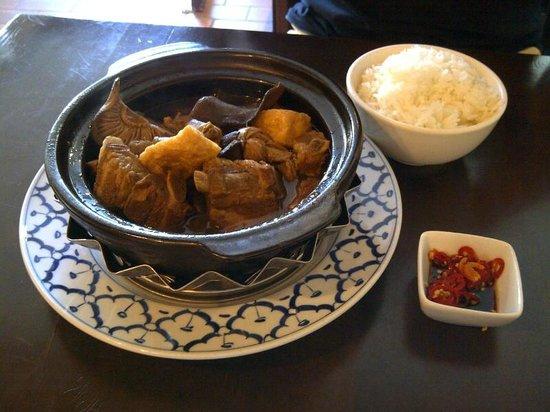 Unique Patisserie: Singapore style pork stew