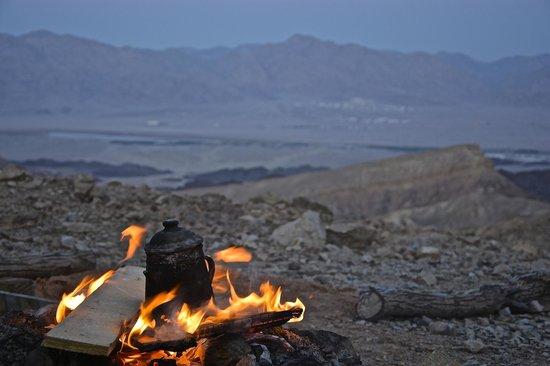 Red Canyon : thé à la fin de la ballade
