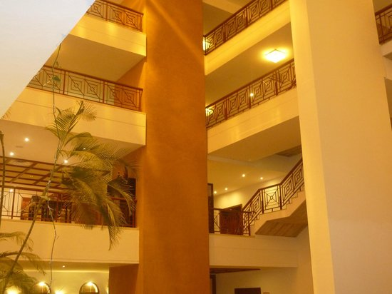 Hotel Costa Calero : A photo of the hotel from the ground floor