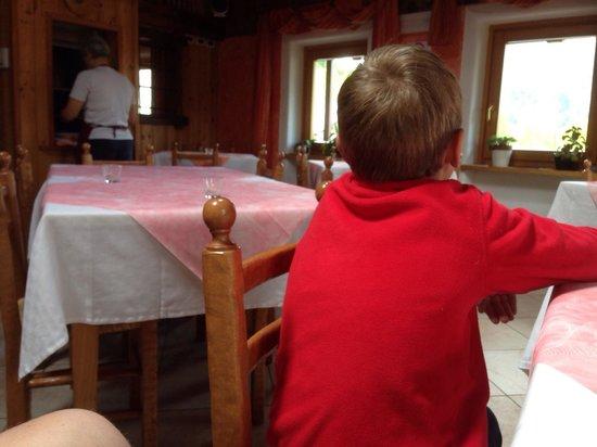 Maison Madeleine: La sala interna