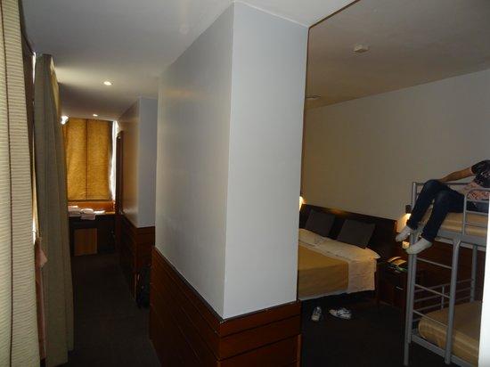 Hotel Sallustio : przedpokój i pokój