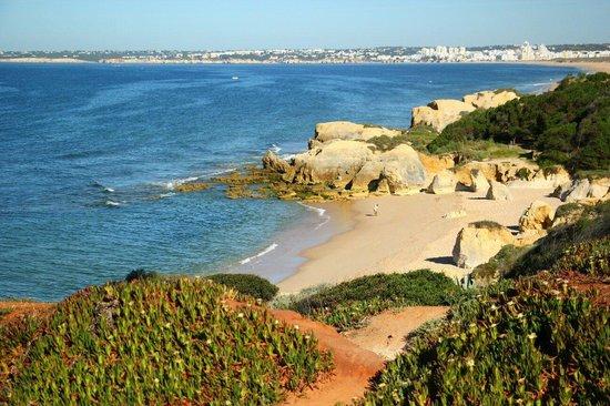Vila Mimosa: The 'cliff walk'