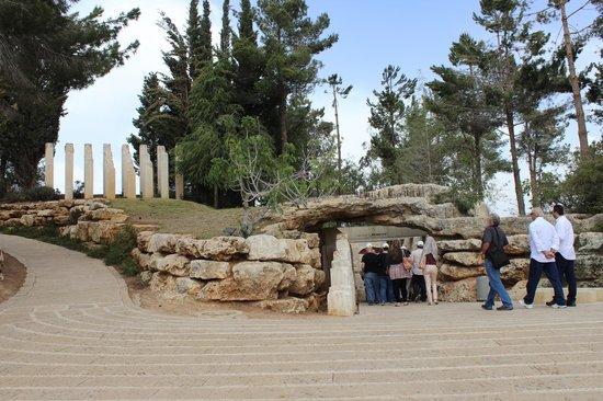 Mémorial de Yad Vashem : Uno scorcio