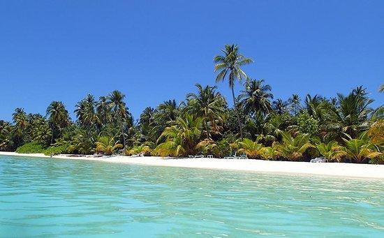 Meeru Island Resort & Spa : Strand der Westseite