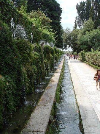 Villa d'Este : Галерея из фонтанов