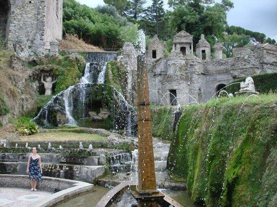 Villa d'Este : Фонтан в Тиволи