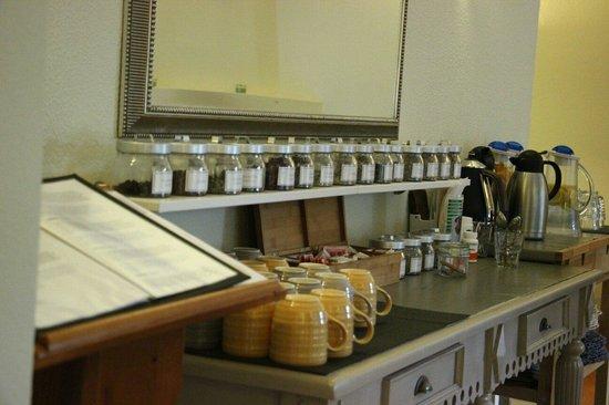 Vila Mimosa: Herbal tea selection