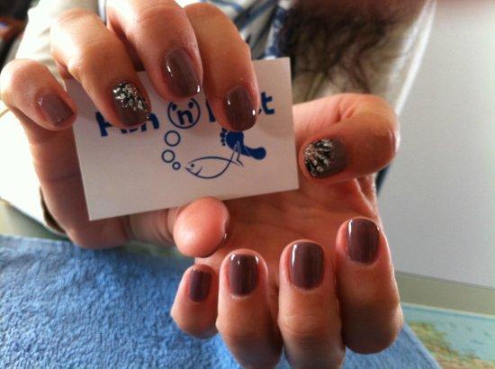 Fish 'N' Feet: Nail art