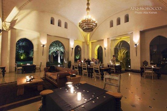 Ksar Char-Bagh: Cadre de la Salle du restaurant