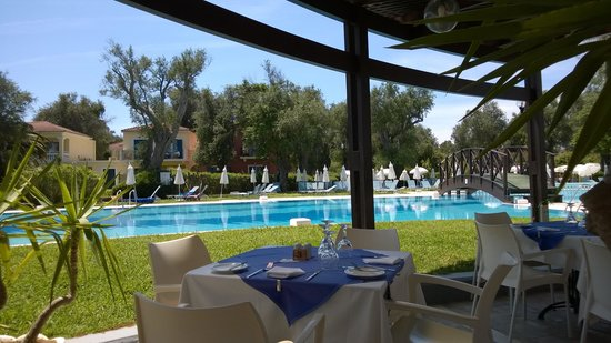 SENTIDO Apollo Palace : A La Carte Restaurant am Pool
