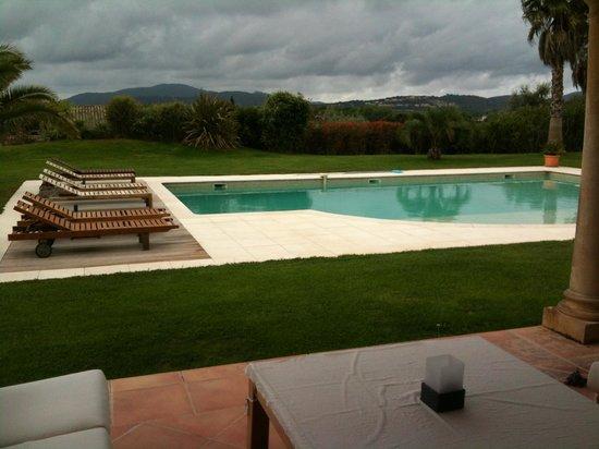 Villa Sophie : Garten/Pool