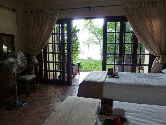Victoria Falls Waterfront: Ausblick aus unserem Zimmer