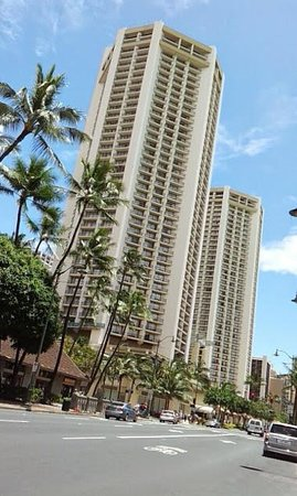 Hyatt Regency Waikiki Resort & Spa : 外観