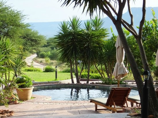 Waterberg Guest Farm: View from Dining room