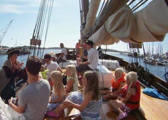 Risor, Norway: Risør Trebåtfestival arrangeres hvert år første helg i august
