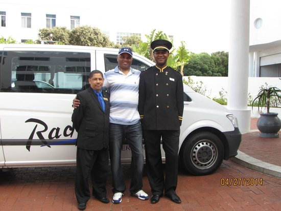 Radisson Blu Hotel Waterfront, Cape Town: PAUL,MYSELF AND DOORMAN