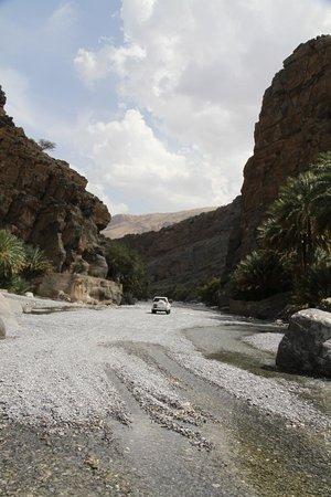 Wadi Ghul - Oman's Grand Canyon: In de wadi