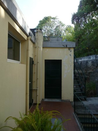 Quinta Perestrello : Utsikt mot bakgård