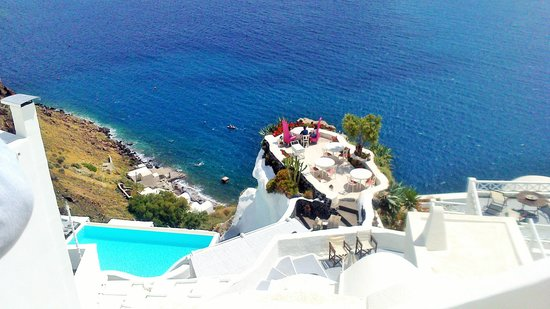 Andronis Boutique Hotel: View