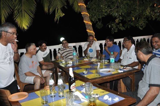 Bambolim Beach Resort: On the Terrace Restaurant