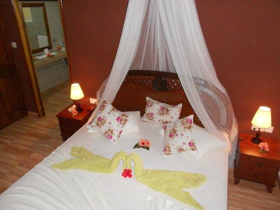 Chalets Bamboo Vert: bedroom