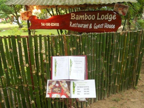 Chalets Bamboo Vert: entrée