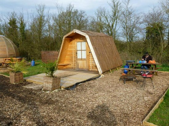 Dorset Country Holidays Glamping: Our lovely home for two nights