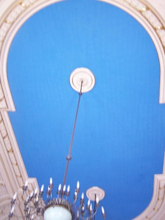 City of Lodz History Museum: Ceiling of the ballroom