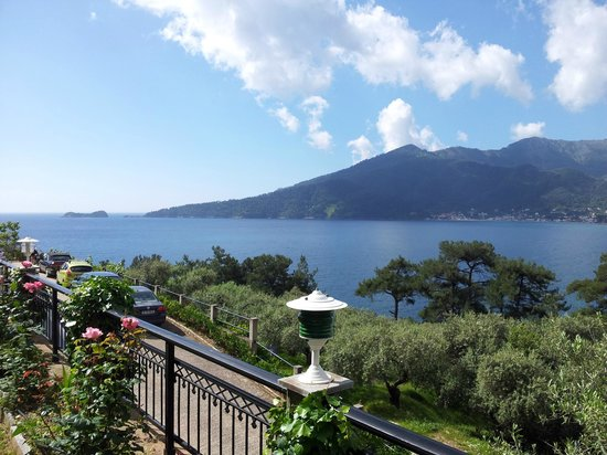 Island View Villa: View from the terrace