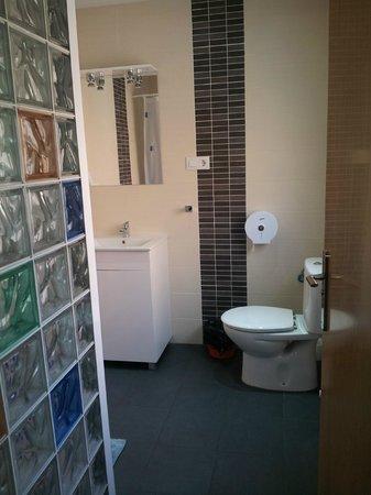 Calfred: Baño privado  en Pension Gran Reserva.
