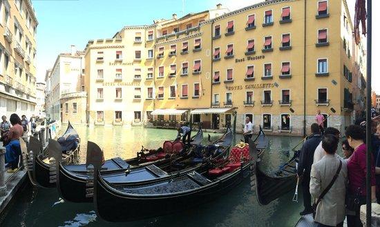 Cavalletto & Doge Orseolo : Vista do canal.