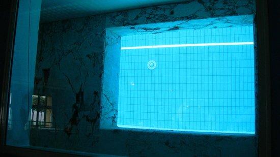 Hotel Club San Diego : Sala ristorante con affacciata sugli interni della piscina