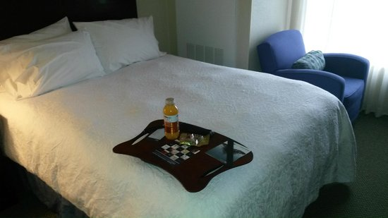 Hampton Inn South Plainfield-Piscataway: Welcome Package