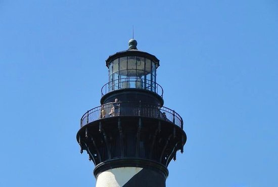 Cape Hatteras Lighthouse: top of lighthouse