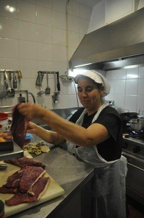 Restaurante Casa Dias: la patronne aux fournaux
