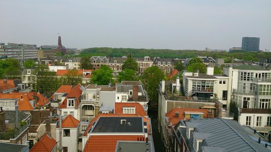 Hotel Des Indes, a Luxury Collection Hotel: View from our windows, out across the roof tops