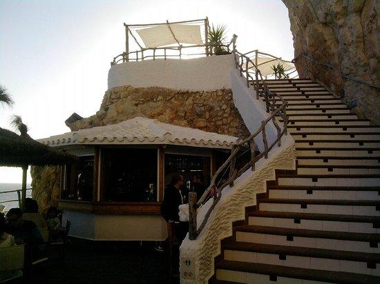 Cova d'en Xoroi : le bellissime scalinate